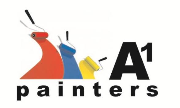 A1 PAINTERS logo full colour